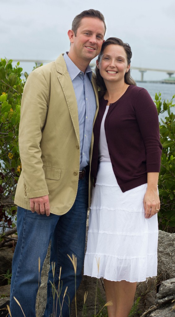 Pastor and Wife Full length